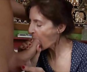 Ugly Granny get Fucked, Free Mature Porn Video